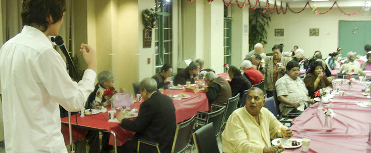 NEW YEAR PARTY FOR SENIORS